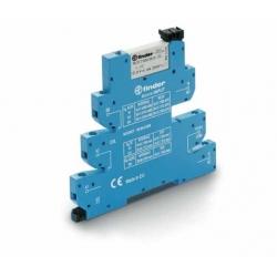 Przekaźnikowy moduł sprzęgający 6,2mm MasterINPUT,1P 6A 12VAC/DC, styki AgNi+Au (5um pow. złota na zestyku) ,  39.41.0.012.5060