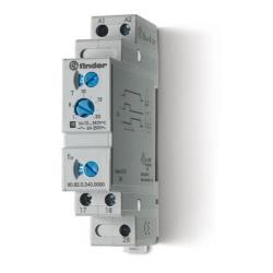 Przekaźnik czasowy jednofunkcyjny SD – gwiazda – trójkąt , sterowanie 12...240VAC/DC, wyjście przekaźnik 2Z 6A 250V, szerokość 1