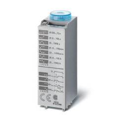 Przekaźnik czasowy 3P 10A 24V AC/DC, wielofunkcyjny AI, DI, SW, GI, 85.03.0.024.0000