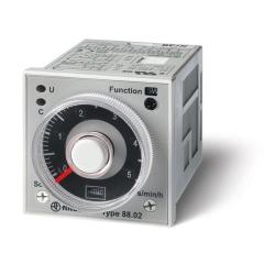 Przekaźnik czasowy 2P 8A 24-230V AC/DC, wielofunkcyjny AI, DI, GI, SW, BE, CE, DE