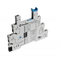 Gniazdo – Wielofunkcyjny moduł czasowy (AI, DI, GI, SW) do przekaźników serii 34, 12...24VAC/DC, zaciski śrubowe, montaż na szyn