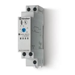 Przekaźnik czasowy jednofunkcyjny BE,zakresy czasowe od 0,1s do 20h, sterowanie 24...240VAC/DC, wyjście przekaźnik 1P 16A 250V,
