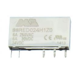 Przekaźnik 1P 6A 24V DC, MI-88RED024H1Z000