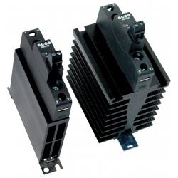 Przekaźnik półprzewodnikowy z radiatorem 1NO 60A wej. 3-32V DC, wyj. 48-600V AC DIN 600493