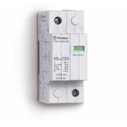 Ogranicznik przepięć kat. B+C, Up - 1,5kV, nominalne napięcie robocze 230VAC, kombinacja warystor+iskiernik,  zestyk przełączny