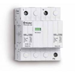 Ogranicznik przepięć kat. B+C, Up – 1,5kV, nominalne napięcie robocze 230VAC, kombinacja 1xwarystor+iskiernik + iskiernik(L-N/N-