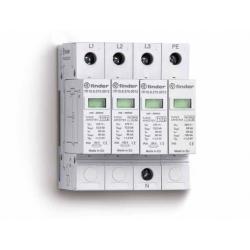 Ogranicznik przepięć kat. B, Up –  1,2kV, nominalne napięcie robocze 230VAC, 4xwarystor (L,N-PE), 7P.15.8.275.1012