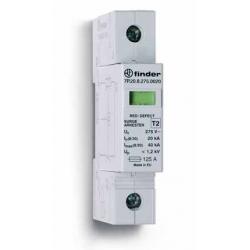 Ogranicznik przepięć kat. C, Up – 1,2kV, nominalne napięcie robocze 230VAC, warystor, zestyk przełączny na wyjściu 1P