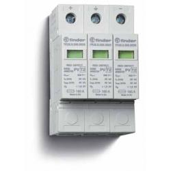 Ogranicznik przepięć kat. C, Up –  1,2kV, nominalne napięcie robocze 1000VDC, 3xwarystor,  zestyk przełączny na wyjściu 1P