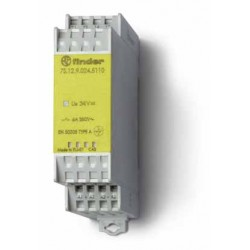 Modułowy przekaźnik bezpieczeństwa 1Z + 1R, 7S.12.8.120.5110