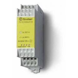 Modułowy przekaźnik bezpieczeństwa 1Z + 1R, 7S.12.9.024.5110