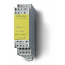 Modułowy przekaźnik bezpieczeństwa 2Z + 2R, 7S.14.9.110.0220