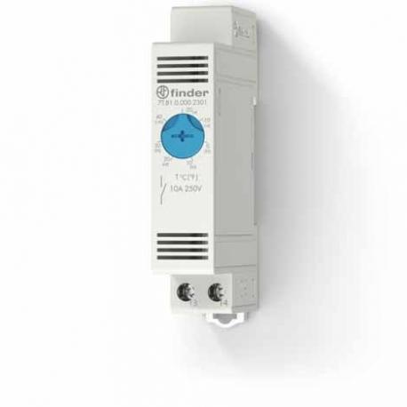 Termostat do szaf i obudów- kontrola wentylatora 1Z 5A