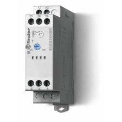 Przekaźnik czasowy jednofunkcyjny BI, zakresy czasowe od 0,05s do 180s, sterowanie 24...240VAC/DC, 83.62.0.240.0000