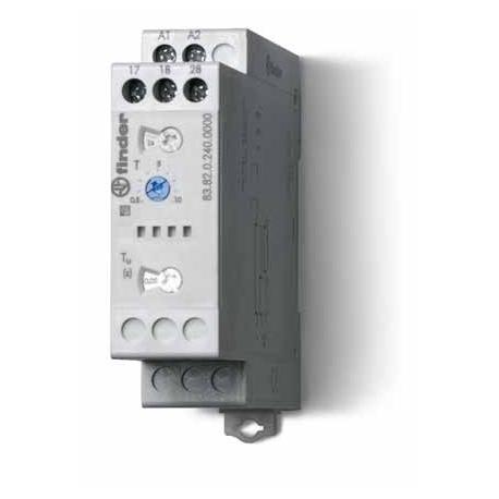 Przekaźnik czasowy jednofunkcyjny SD – gwiazda – trójkąt , sterowanie 24...240VAC/DC, wyjście przekaźnik 2Z 16A 250V, szerokość