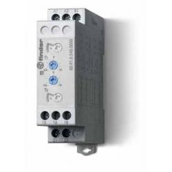 Przekaźnik czasowy jednofunkcyjny LI, LE, PI, PE sterowanie 24...240VAC/DC, wyjście przekaźnik 1P 16A 250V, szerokość 22,5mm, mo