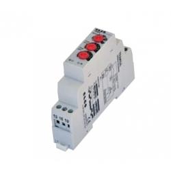 Przekaźnik czasowy modułowy, 24-75V DC, 24-240V AC 1P 8A DIN, TEMSA