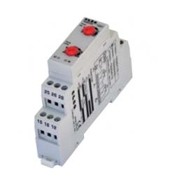 Przekaźnik czasowy wielofunkcyjny, 24-75V DC 24-240V AC  1P 8A DIN, TEMFS