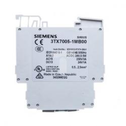 Przekaźnik interfejsowy 1Z monostabilny 2A 24V AC/DC 3TX7005-1MB00