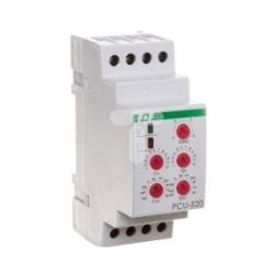 Przekaźnik czasowy 2P 8A 0,1sek-576h 12-264V AC/DC wielofunkcyjny PCU-520 UNI