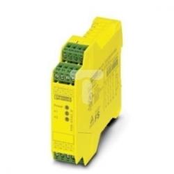 Przekaźnik bezpieczeństwa do zatrzymania awaryjnego i drzwi bezpieczeństwa 24V AC/DC 2xLED PSR-SCP- 24UC/ESA2/4X1/1X2/B 2963802