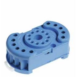 Gniazdo do przekaźników serii 60.12, 88.12, zaciski śrubowe, montaż na szynę DIN 35mm lub płytę
