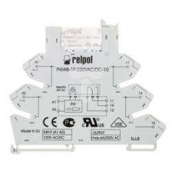 Przekaźnik interfejsowy 1P 6A 230V AC/DC PIR6WB-1P-230VAC/DC-10