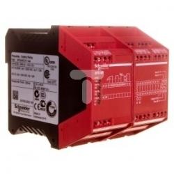 Przekaźnik bezpieczeństwa stop awaryjny 7R 24V AC/DC XPSAR311144