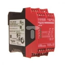 Przekaźnik bezpieczeństwa stop awaryjny 230V AC 24V DC XPSAK371144P