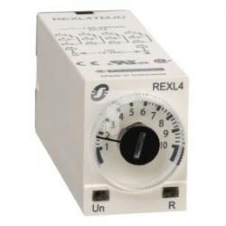 Przekaźnik czasowy opóźniający załączający, 0,1 s...100 h, 230 V AC, 4 OC REXL4TMP7