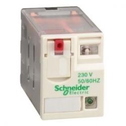 Przekaźnik wtykowy miniaturowy -Zelio RXM, 3 styki przełaczne, 230 V AC -dioda LED RXM3AB2P7