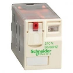 Przekaźnik wtykowy miniaturowy Zelio RXM 4 C/O 240 V AC 6A RXM4AB1U7