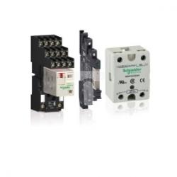 Przekaźnik wtykowy miniaturowy Zelio RXM, 4 styki przełaczne, 120 V AC-dioda LED RXM4AB2F7