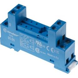 Gniazdo do przekaźników serii 40.51/40.52/40.61/44.52/44.62, zaciski śrubowe, montaż na szynę DIN 35mm, 95.65 SMA