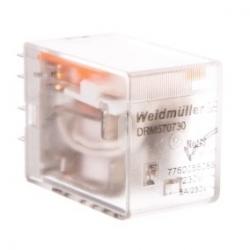 Przekaźnik przemysłowy 4P 5A 230V AC DRM570730 7760056086