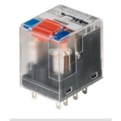 Przekaźnik przemysłowy 2P 12A 24V DC złącze wtykowe RCM270024 8689860000