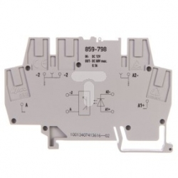 Złączka z optoseparatorem 12 / 24V DC / 0,1A / -25 / +30 859-798