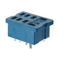 Gniazdo do przekaźników serii 56.34, montaż do płytek drukowanych (klip metalowy), 96.14SMA