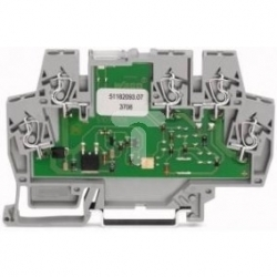 Złączka z optoseparatorem 24V DC / 3-30V DC / 3A 859-740
