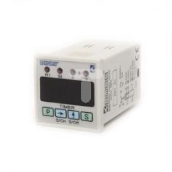 Zegar cyfrowy wielofunkcyjny 0,1-99,59 sek 24V AC/DC styki 1CO T0-RZ1D1B-2
