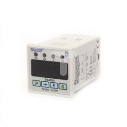 Zegar cyfrowy 0,1-99,59 sek wielofunkcyjny 220V AC, styki 1CO T0-RZ1D1B-5